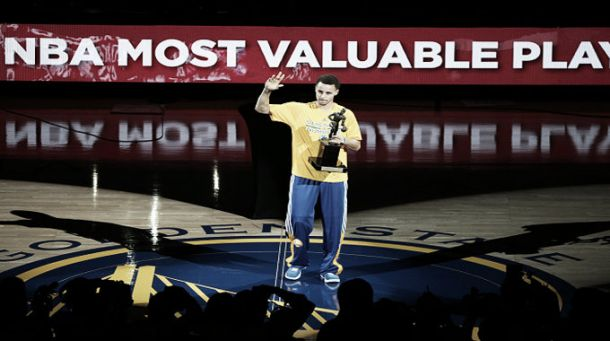 Stephen Curry, designado MVP de la NBA