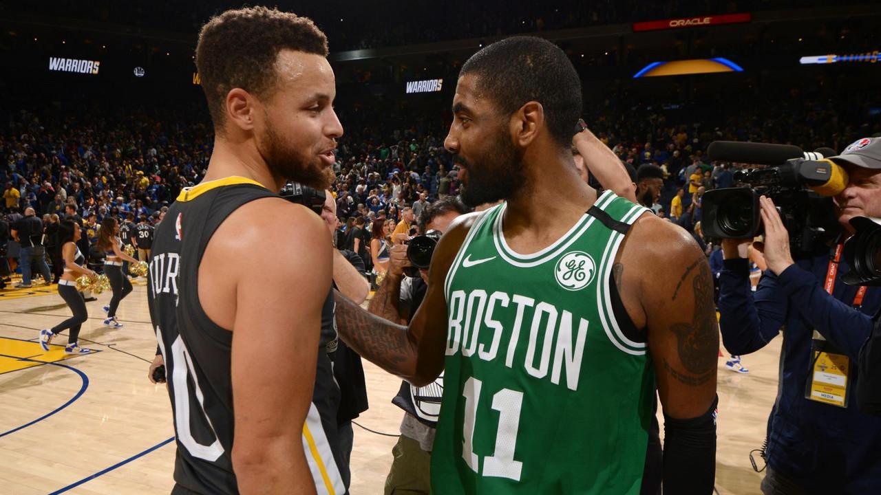"NBA - Kyrie Irving non ha dubbi: ""Rimarrò a lungo a Boston"""