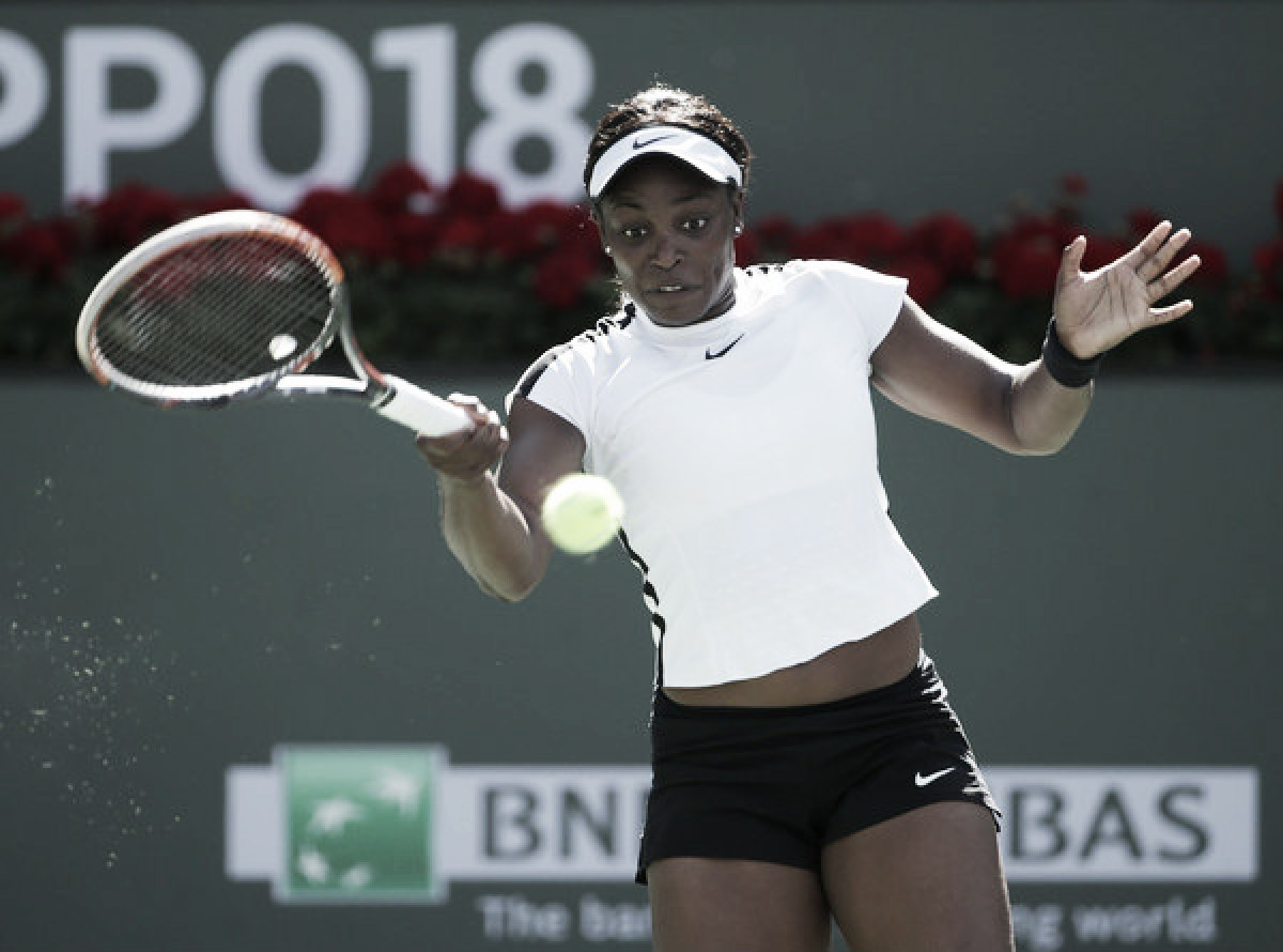 WTA Indian Wells: Sloane Stephens eases past erratic Victoria Azarenka, triumphs in straight sets