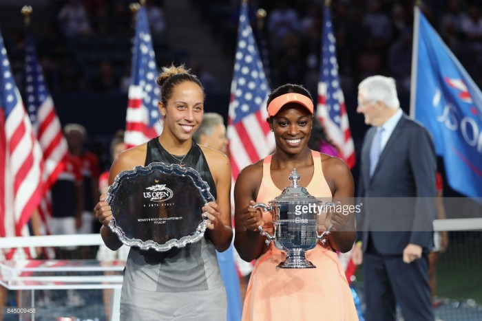 US Open 2017: Sloane Stephens wins first major title after straight sets victory over Madison Keys