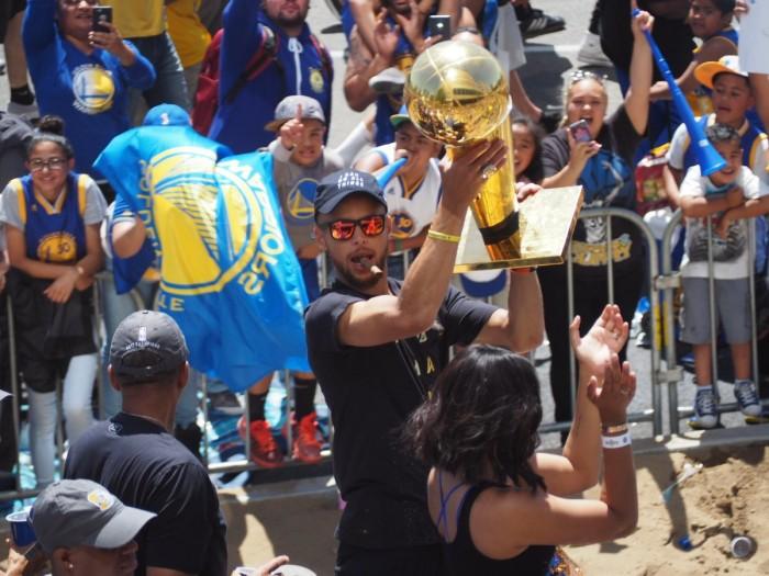 NBA Playoff - La parata dei Golden State Warriors