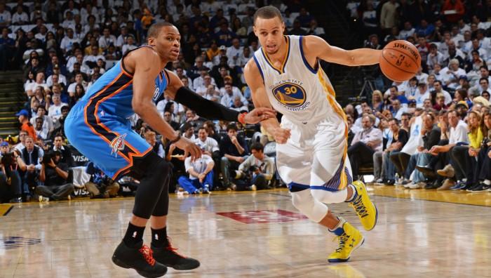 NBA Playoffs - Westbrook sfida Curry: gara-6 tra Thunder e Warriors è già iniziata