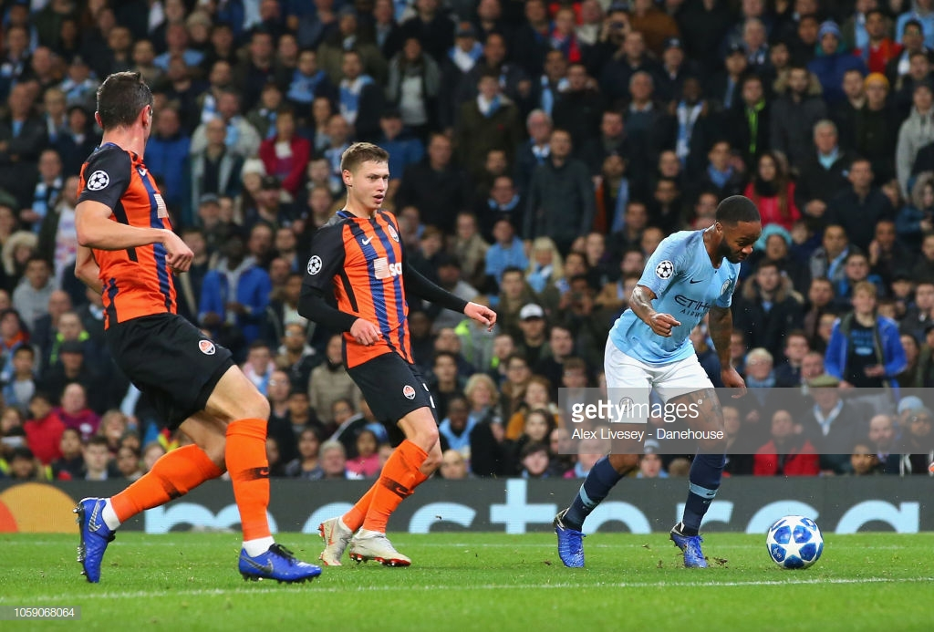 Raheem Sterling apologises after controversial penalty against Shakhtar