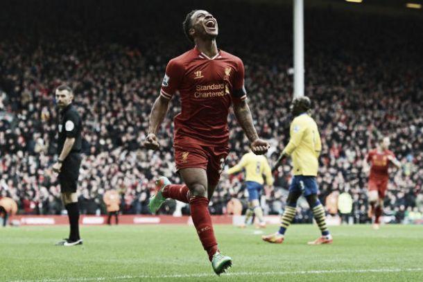 Liverpool goleia Arsenal e ainda sonha com o título