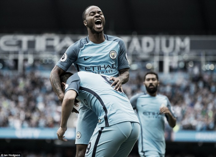 Manchester City 3-1 West Ham United: Sterling shines against hopeless Hammers