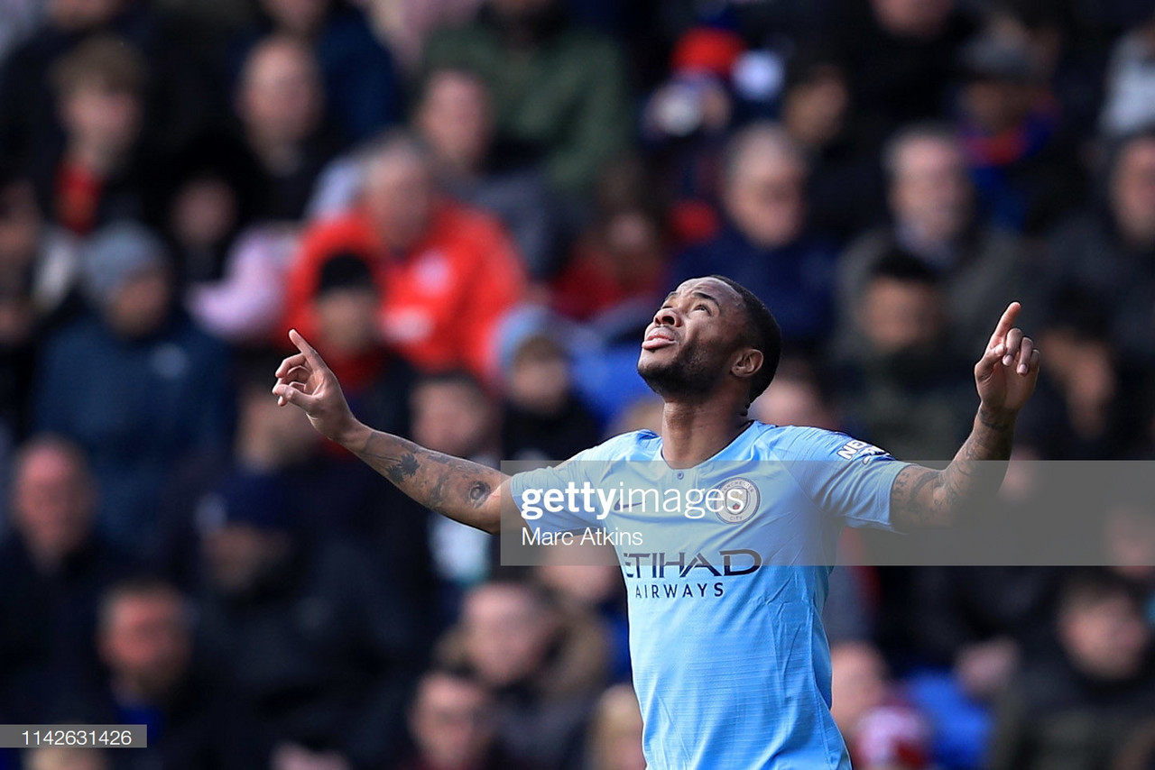 Crystal Palace 1-3 Manchester City: Champions maintain pressure on Liverpool in quest for Premier League crown
