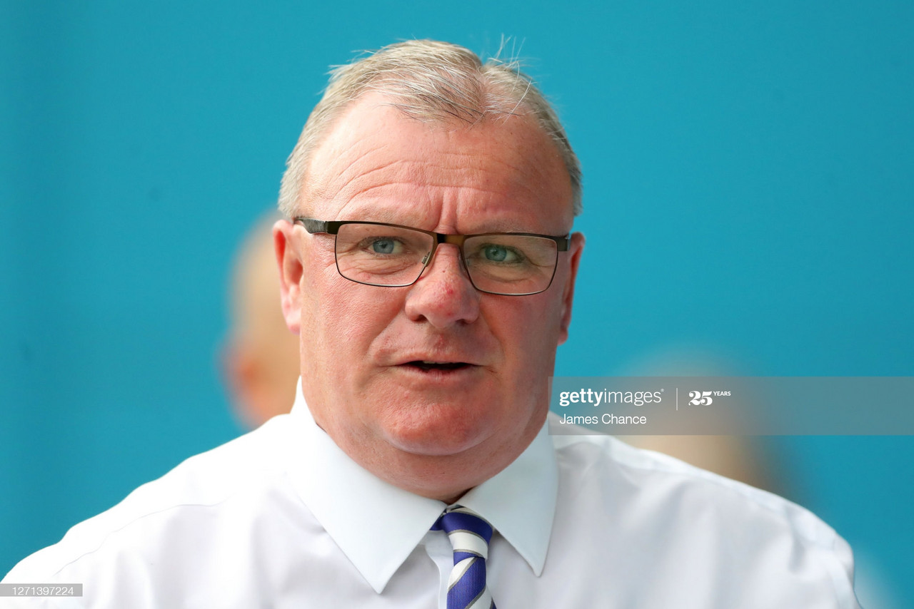 Gillingham manager Steve Evans saw his side waste plenty of chances on Saturday afternoon | Photo by James Chance - GettyImages