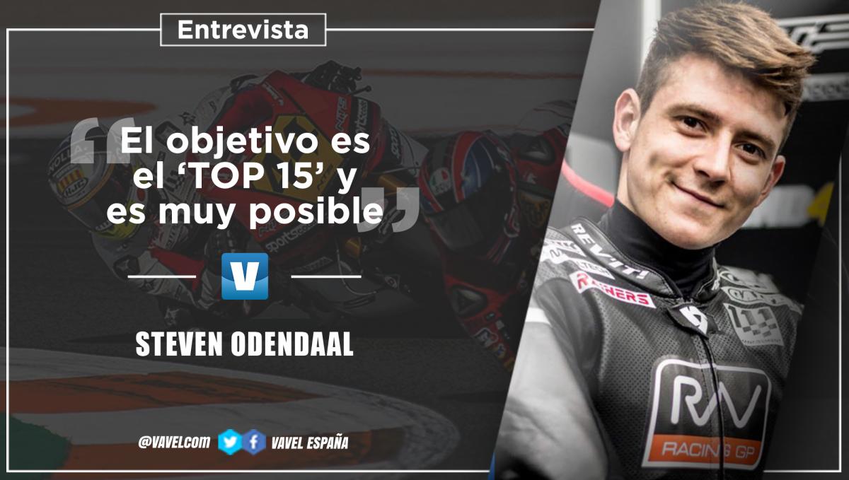 """Entrevista. StevenOdendaal: """"El objetivo es el top 15, y creo que es posible"""""""