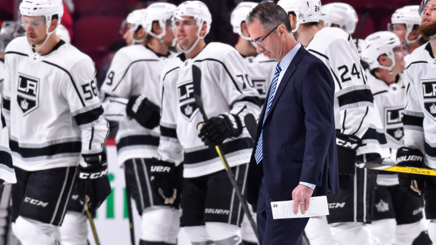 Los Angeles Kings fire head coach John Stevens after dreadful start to the season
