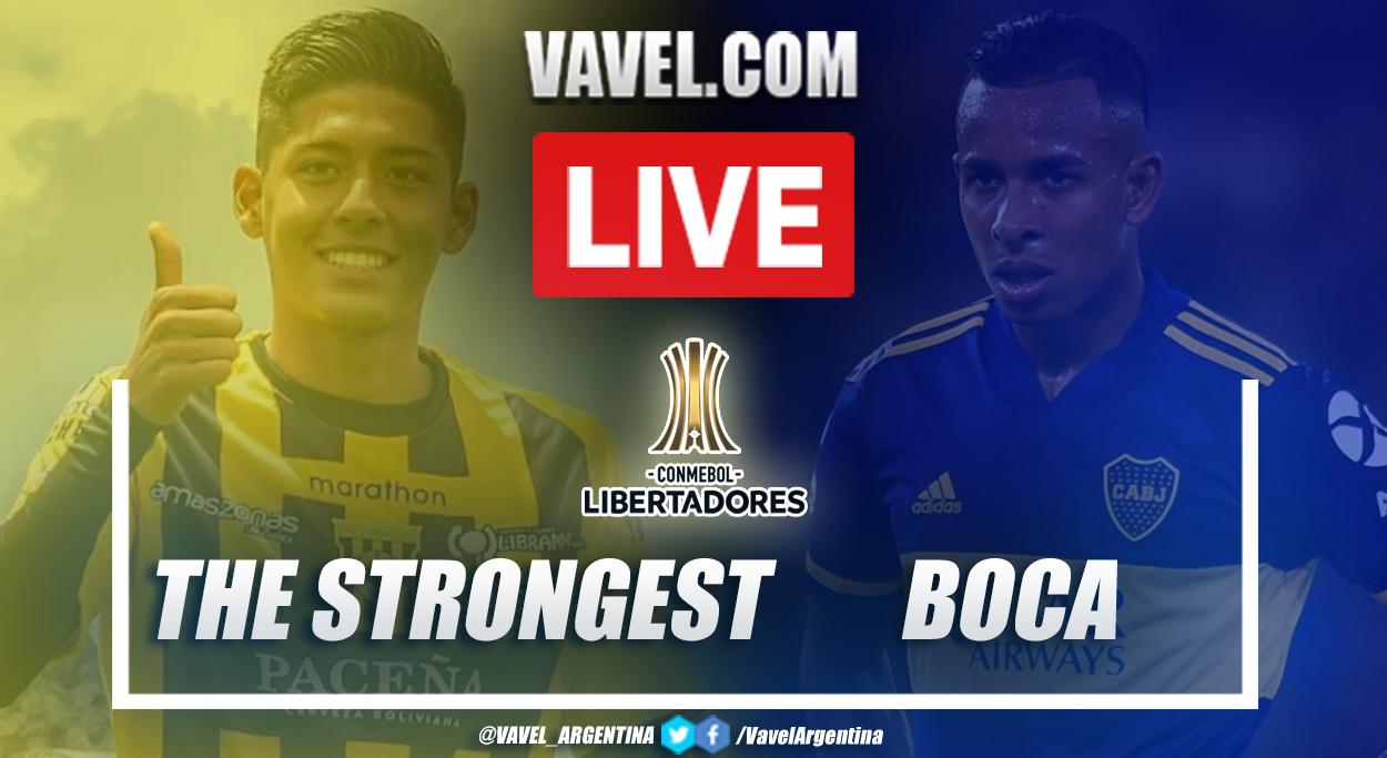 Resumen The Strogest vs Boca (0-1) en la fecha 1 del grupo C por Copa Libertadores 2021