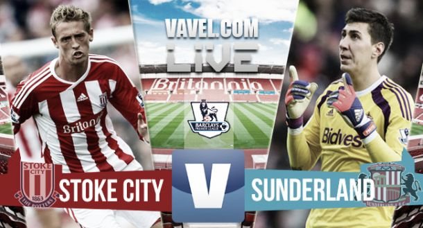 Resultado Stoke City vs Sunderland en la Premier League 2015 (1-1)