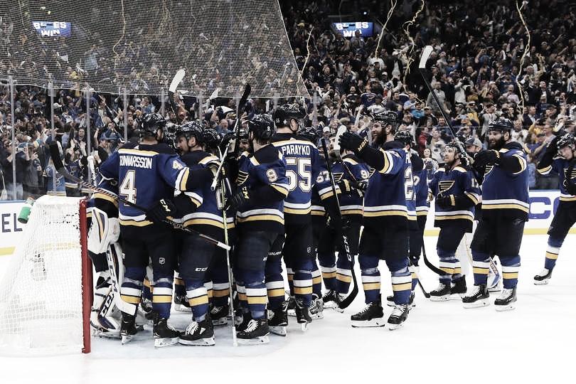 Los Blues alcanzan la final de la Stanley Cup por primera vez en 50 años