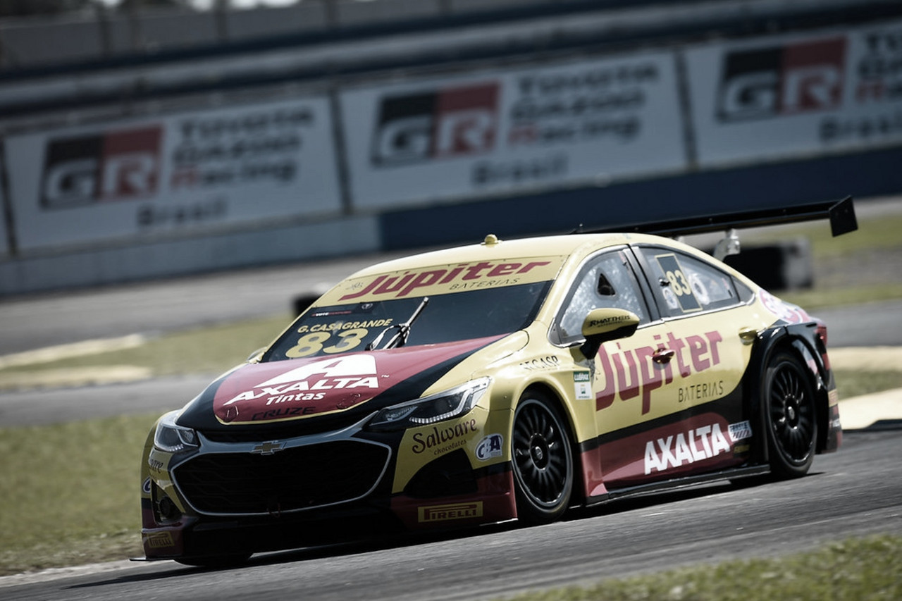 Stock Car: Casagrande gana en Curitiba
