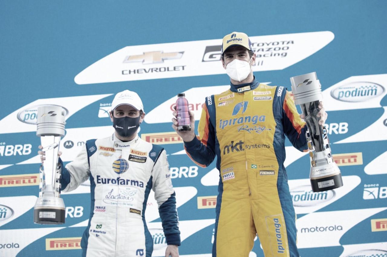 Stock Car: victoria de  Mauricio y Camilo en Curitiba