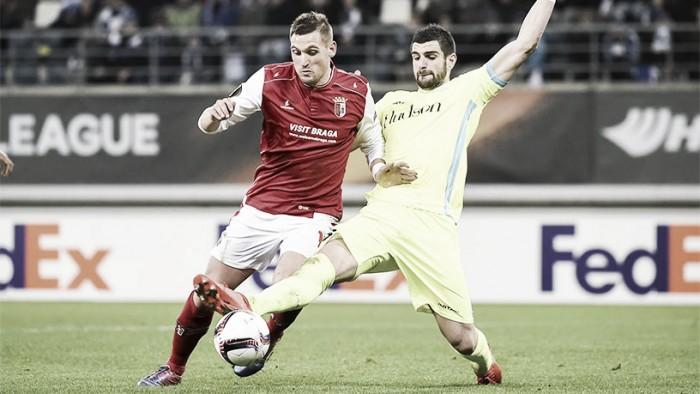 Braga empata en Bélgica y no consigue la clasificación