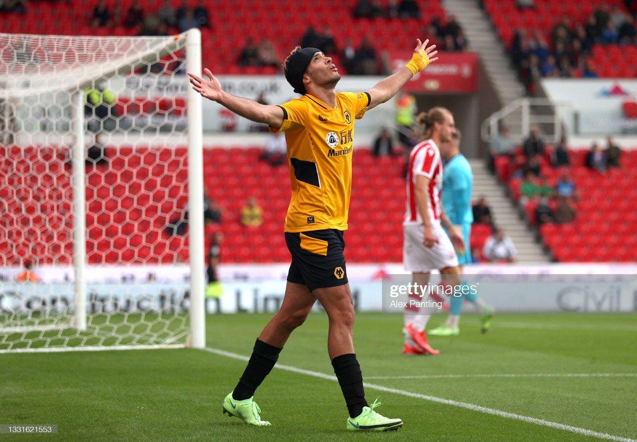 Stoke City 1-1 Wolves: Jimenez scores first goal since comeback