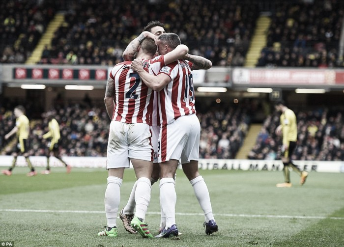Watford 1-2 Stoke City: Slow start costs hosts
