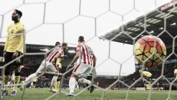 El Stoke City pasa por encima de un pobre Aston Villa