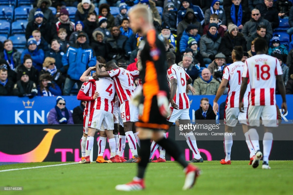 Leicester City 1-1 Stoke City: Butland error costs the Potters points