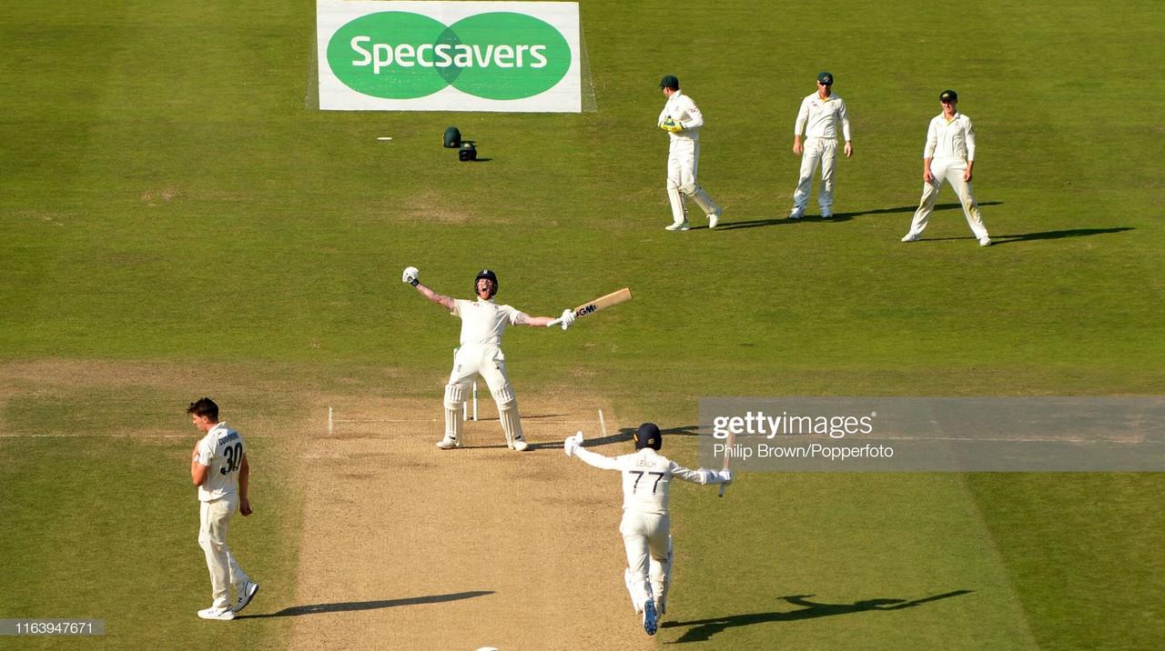 England vs Australia - Third Test Day Four: Stokes stuns Aussies as England pull off improbable victory