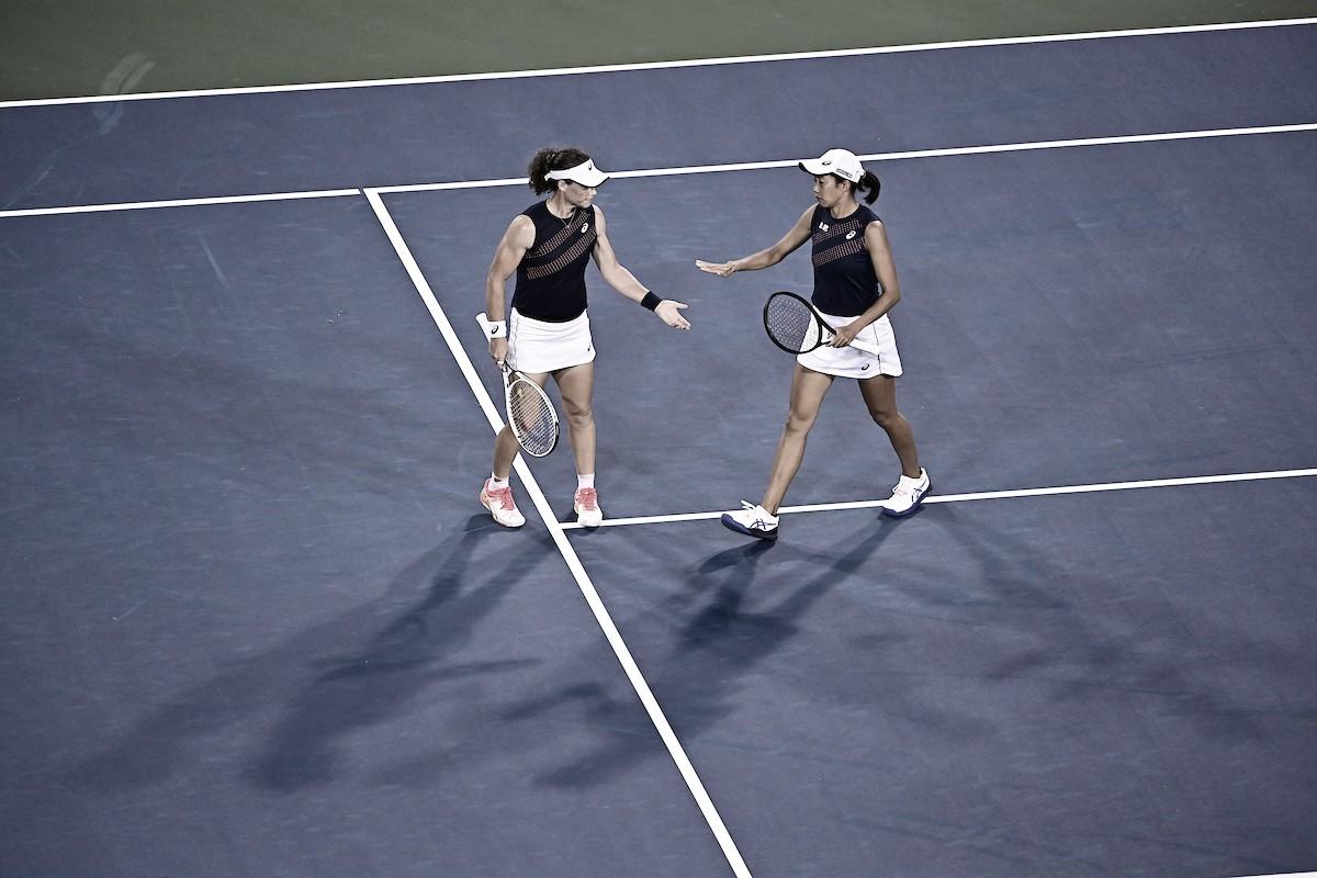 Em terceira final seguida, Dabrowski/Stefani perdem título de Cincinnati para Stosur/Zhang