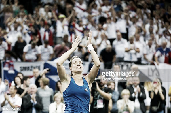Fed Cup: Barbora Strycova gives Czech Republic the lead with a marathon victory over Sofia Kenin
