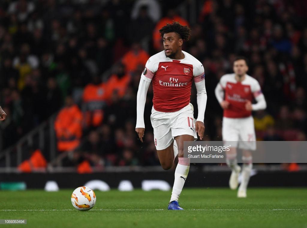 Alex Iwobi speaks out on serious Welbeck injury