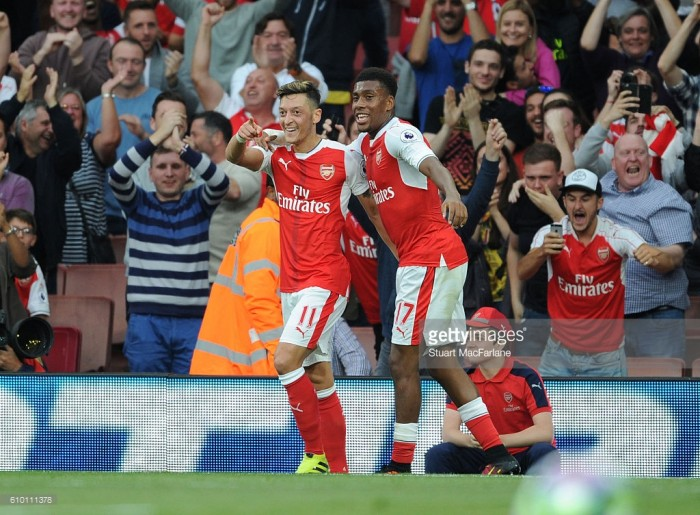 Mesut Özil compares Alex Iwobi to Okocha
