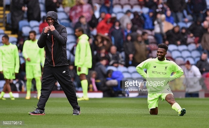 Jürgen Klopp says that Daniel Sturridge isn't suffering a from lack of confidence as the striker looks to end goal drought