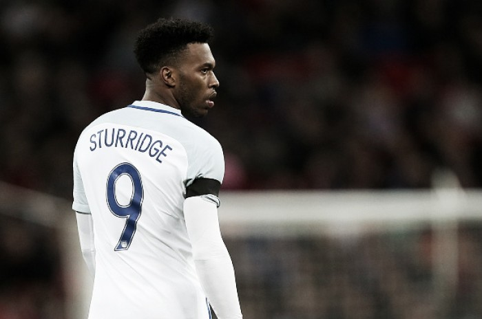 Liverpool striker Daniel Sturridge in danger of missing Euro 2016 with calf strain