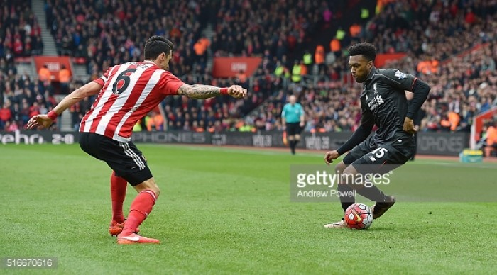 Southampton frustrate Liverpool to earn point at St Mary's