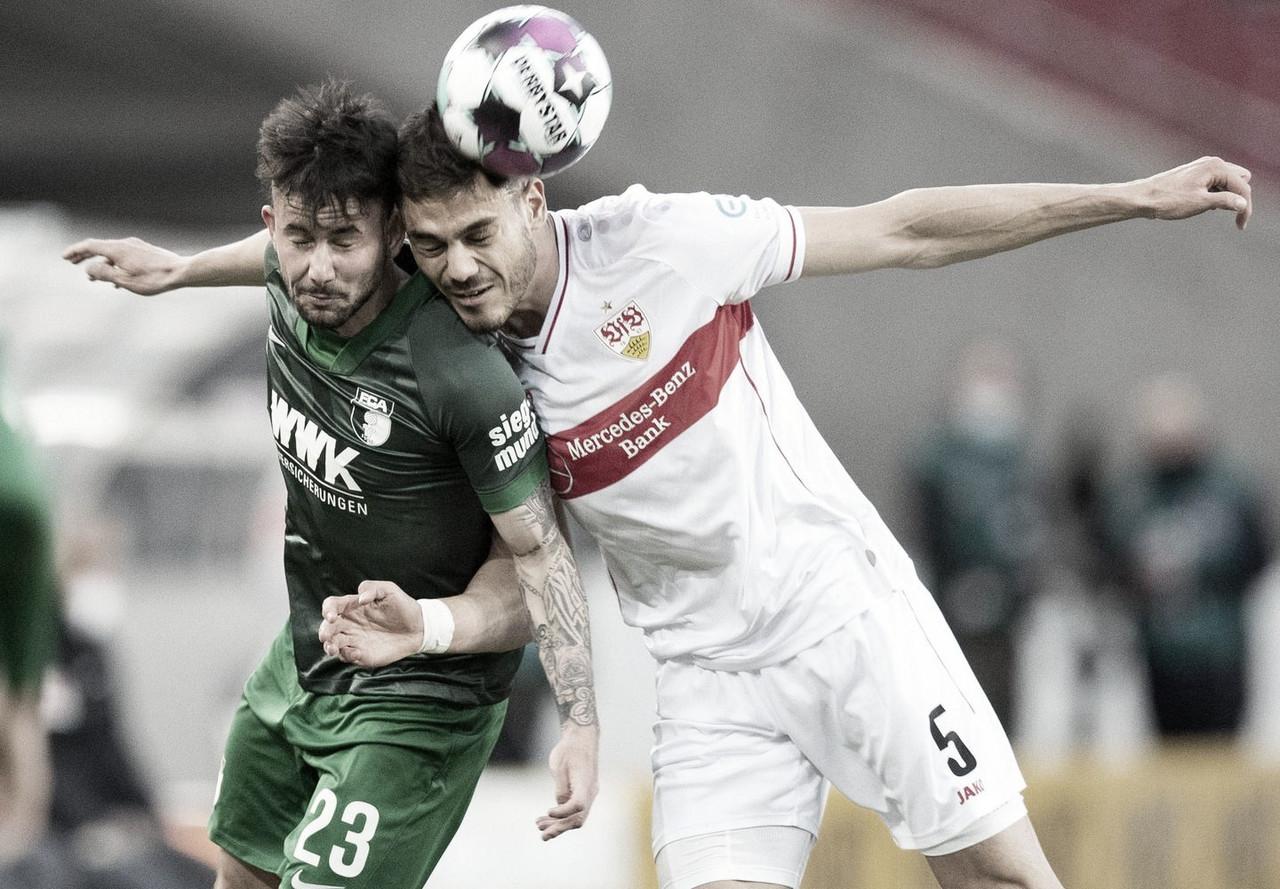 Stuttgart vence Augsburg e deixa adversário perto da zona de rebaixamento na Bundesliga