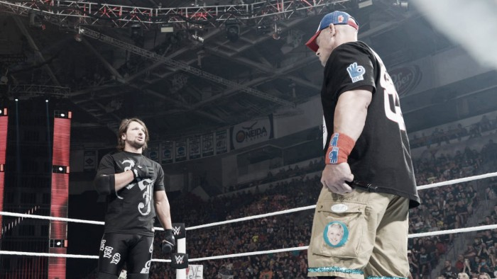 News on AJ Styles - John Cena and why their feud must culminate at SummerSlam
