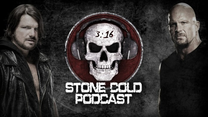 AJ Styles will be the next guest on the Stone Cold podcast on the WWE Network