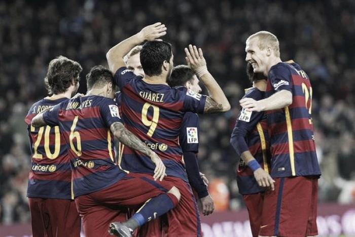 Il Barcellona chiude il 2015 in bellezza: 4-0 al Betis