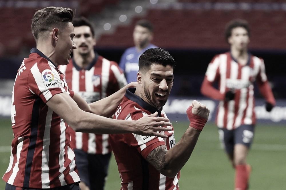Suárez marca e garante vitória simples do Atlético de Madrid sobre Getafe