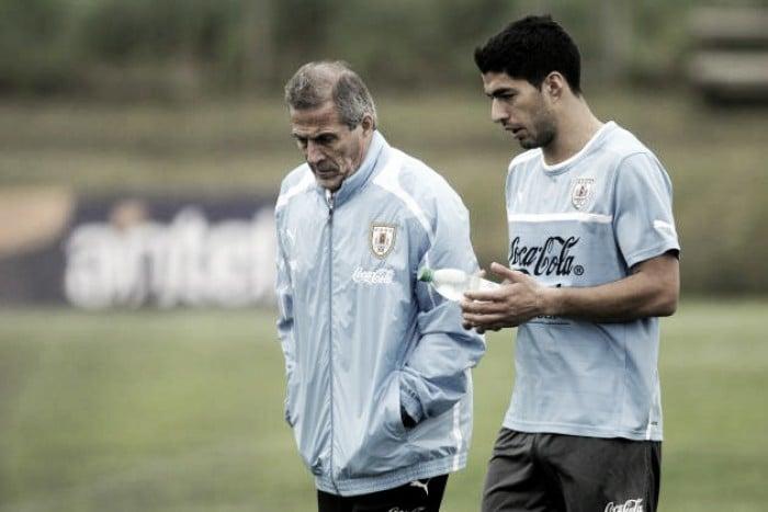 "Óscar Tabarez: ""Suárez no estaba para jugar"""