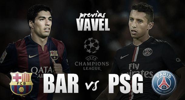 Barcelona - PSG: luchando las semifinales