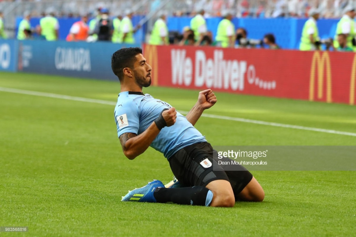 Uruguay 3-0 Russia: Suarez sends Uruguay to Group A summit