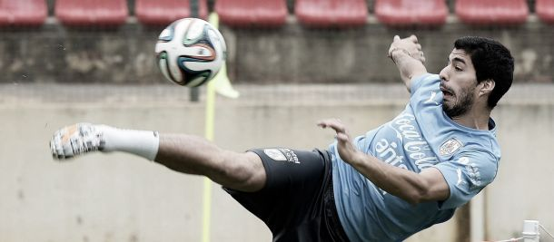 Luis Suárez afirma estar 100% para enfrentar a Inglaterra