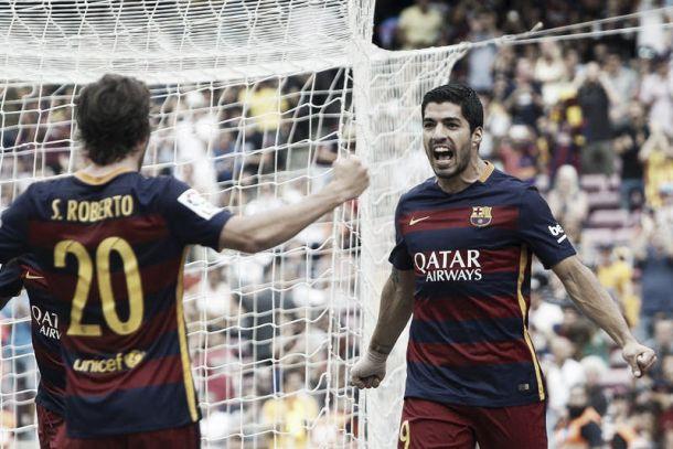 Liga, una doppietta di Suarez rialza il Barça (2-1 al Las Palmas). Ma Messi va k.o.