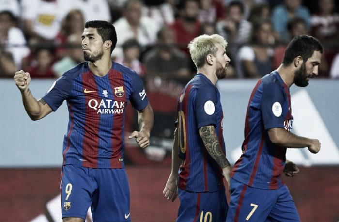 Barcelona conta com vantagem em decisão da Supercopa da Espanha contra Sevilla