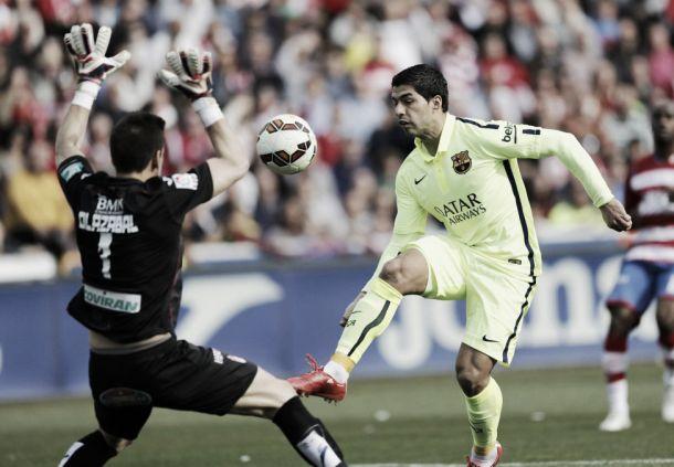 Grandad 1-3 Barcelona: Three Star Barcelona Ease Past Relegation-Threatened Granada