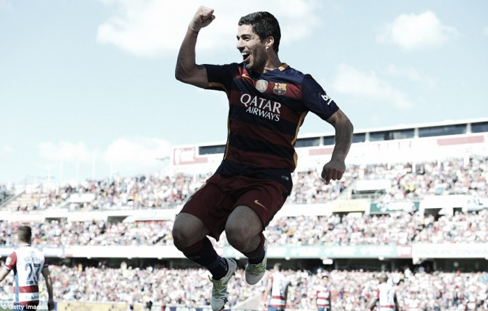 Barca beat Granada to win La Liga title