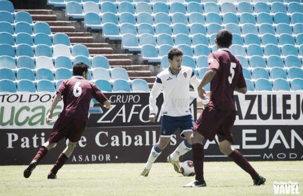 El Cornellà rompe la imbatibilidad del Real Zaragoza B en casa