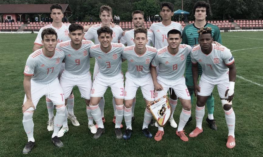 La selección sub-18 consigue el pase a la final en el torneo amistoso de Eslovaquia