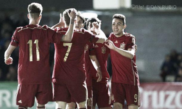 Samu Castillejo y Denis Suárez brillan con la sub- 21