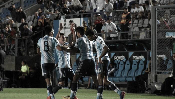 La Argentina se clasificó a la final del Sudamericano Sub 15