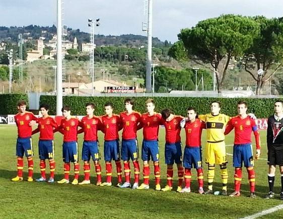 La Sub-17 coge confianza derrotando a Italia