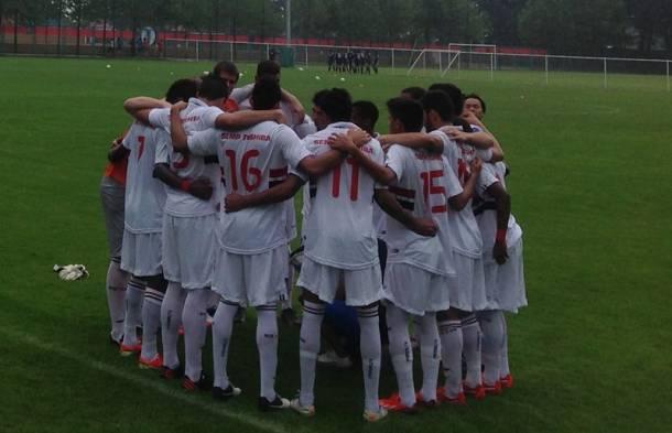 Sub-18 do São Paulo vence mais uma na Weifang Cup